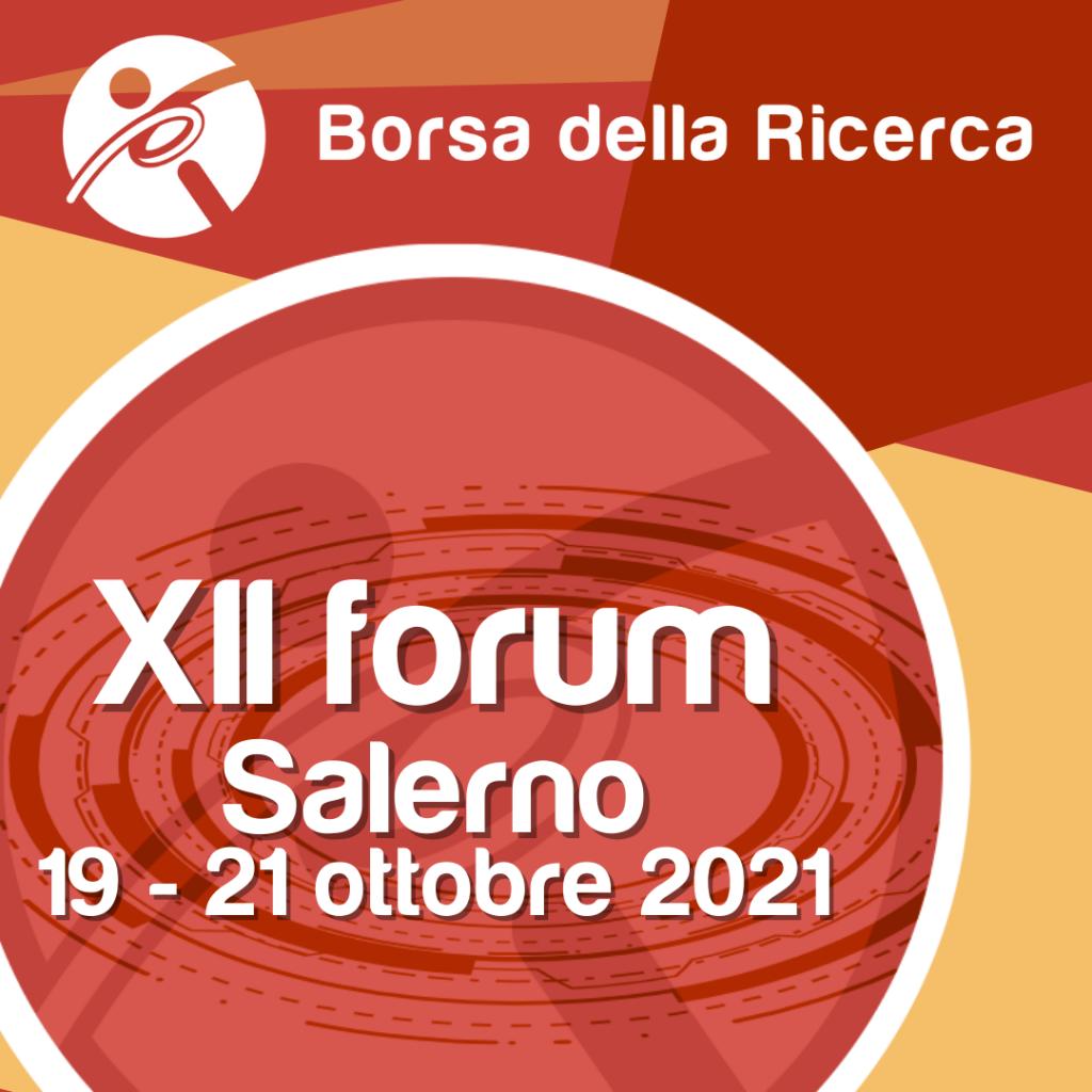 Borsa della Ricerca | XII forum | Salerno