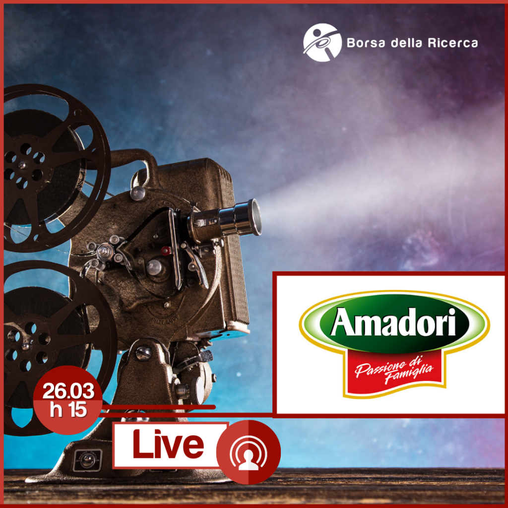 I Live della Borsa della Ricerca | Amadori
