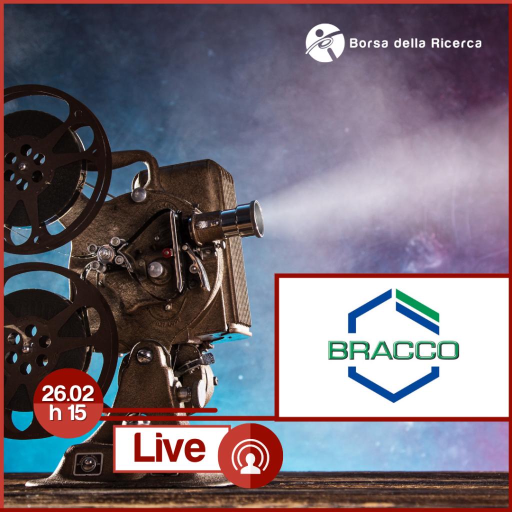 I Live della Borsa della Ricerca | BRACCO