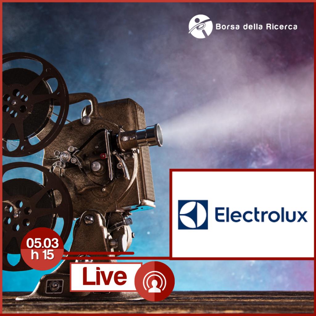 I Live della Borsa della Ricerca | ELECTROLUX