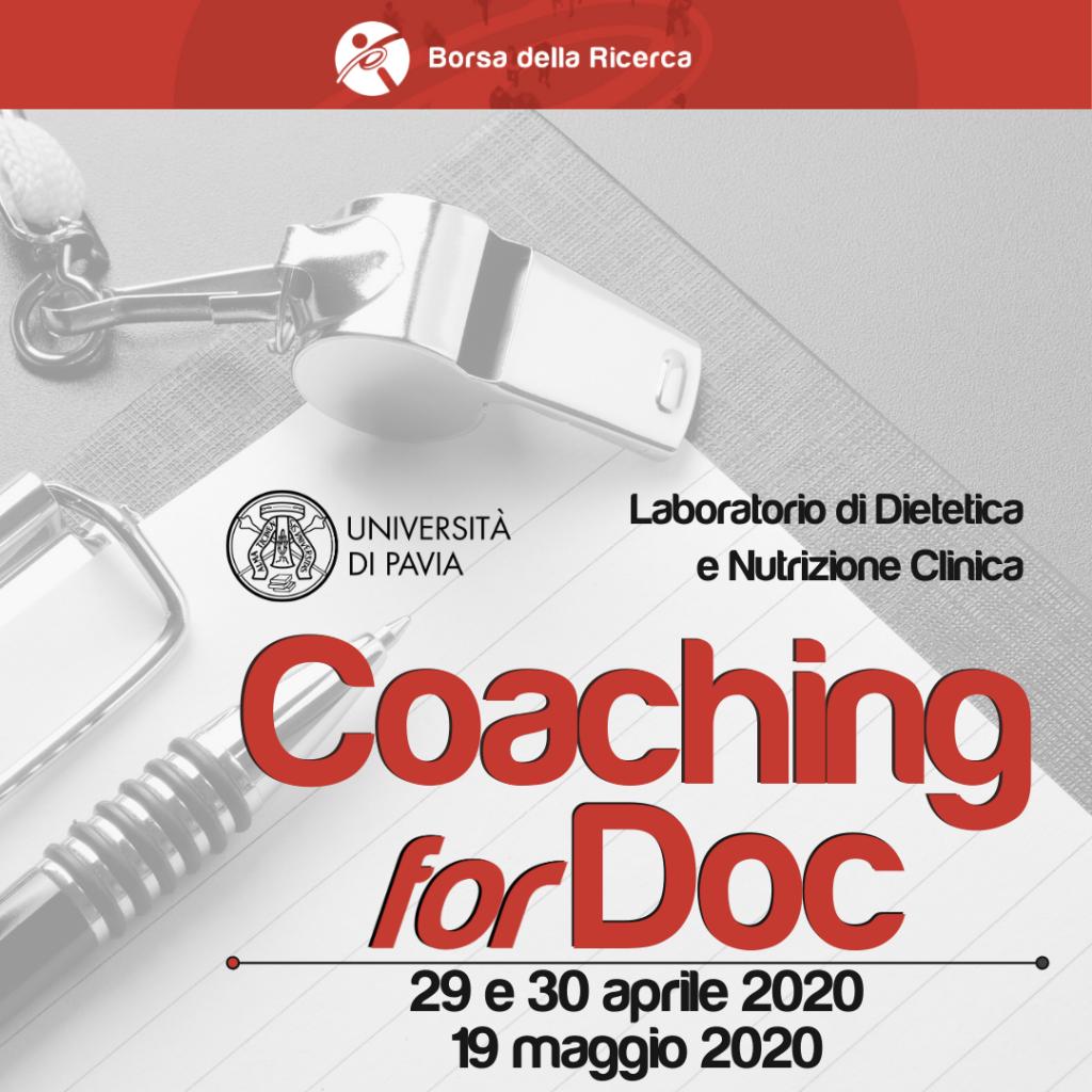 Coaching forDoc | Università degli Studi di Pavia