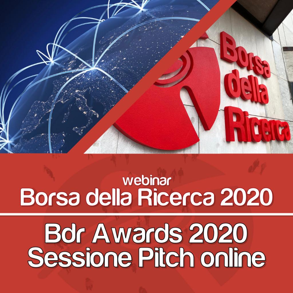 Webinar BdR 2020 | gli Awards, la Sessione di Pitch