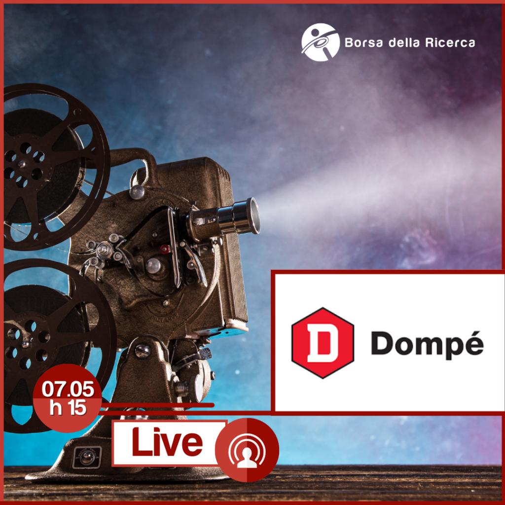 I Live della Borsa della Ricerca | Dompé