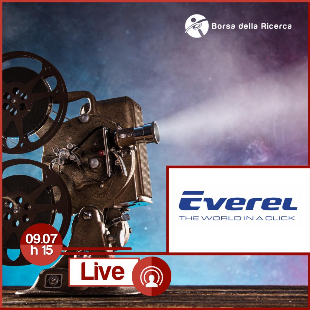 I Live della Borsa della Ricerca | Everel
