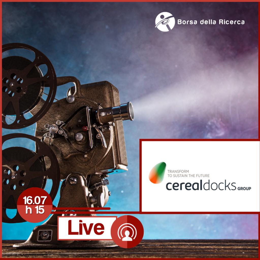 I Live della Borsa della Ricerca | Cereal Docks
