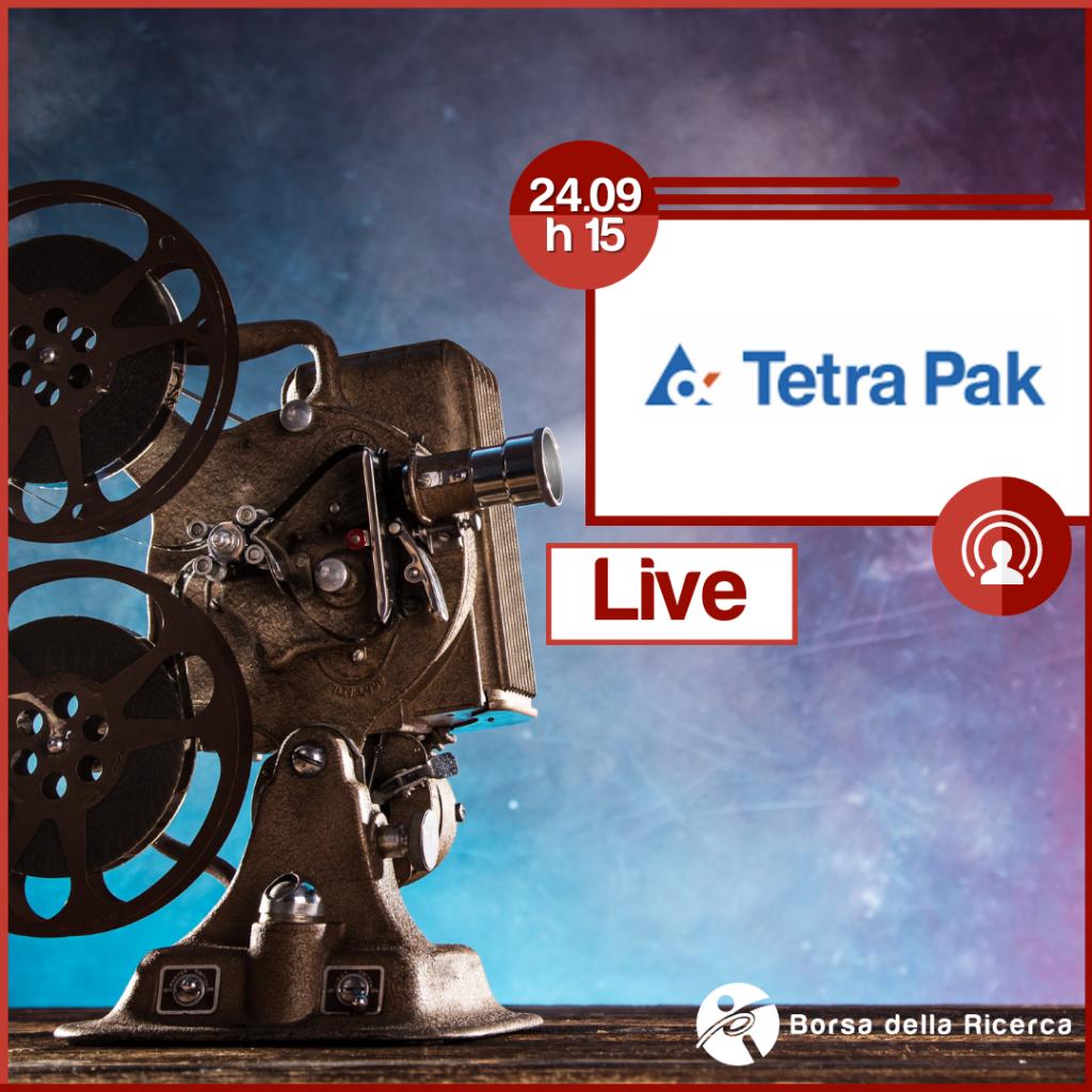I Live della Borsa della Ricerca | Tetra Pak