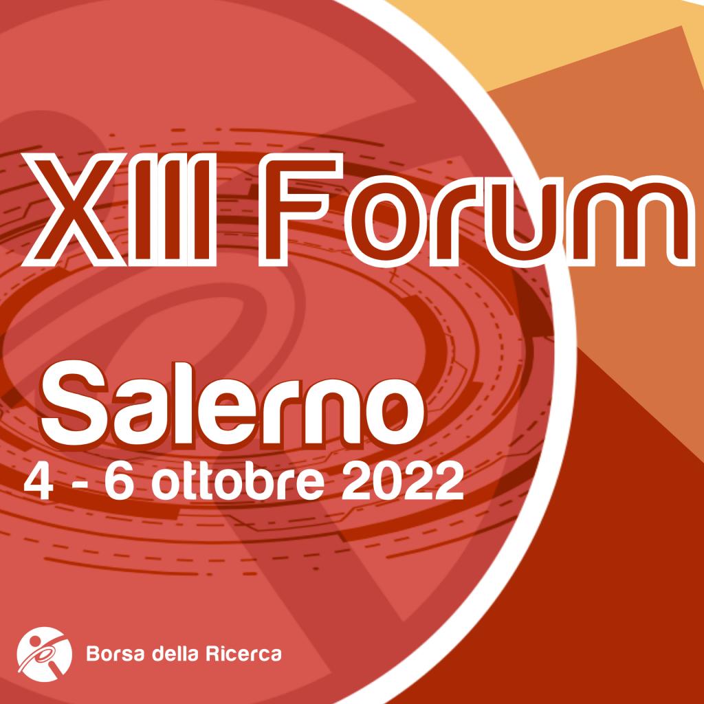 Borsa della Ricerca | XIII forum | Salerno
