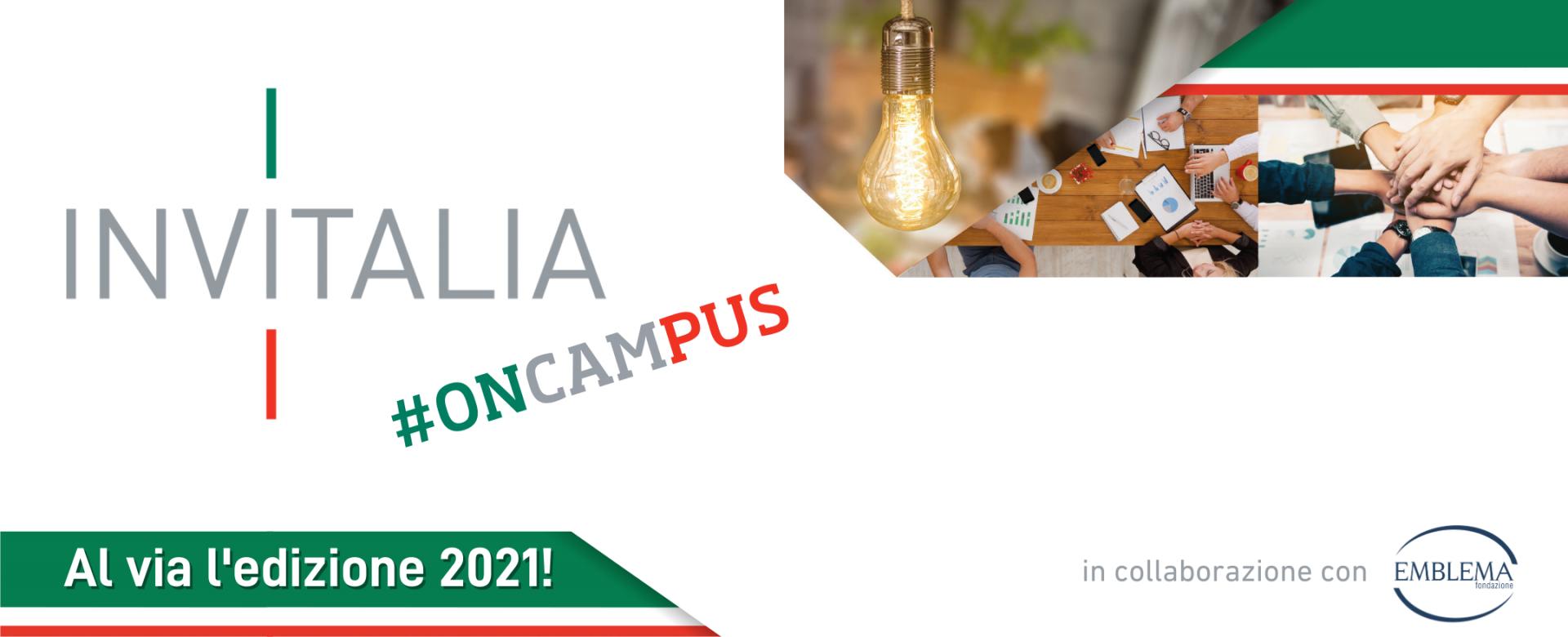 14.04.2021 - Torna Invitalia #onCampus!